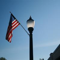 Saratoga 1 & Flagpole Holder